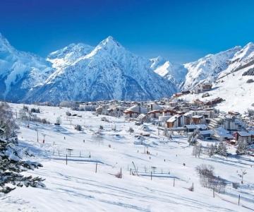 Apartamentos y estudios multi residences 1650 Les Deux Alpes