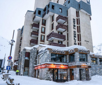 Hotel & Bar Curling Tignes